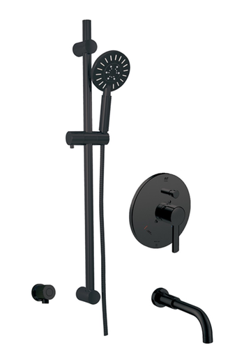 CIRCO THERMONE TUB/SHOWER SYSTEM ELECTRO BLACK