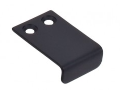 "TK101BLK Tab Pull 1"" - Flat Black-furniture stores regina-Hunters Furniture"