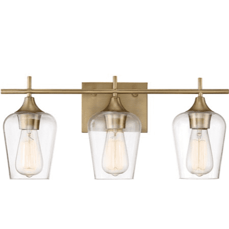 Octave 3 Light Bath Bar Warm Brass-furniture stores regina-Hunters Furniture
