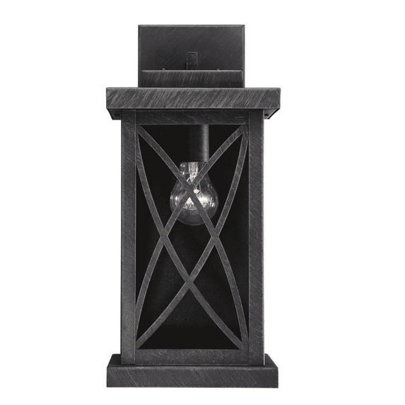 (Item Discontinued) Norwalk Outdoor Wall Lantern Brushed Bronze-furniture stores regina-Hunters Furniture