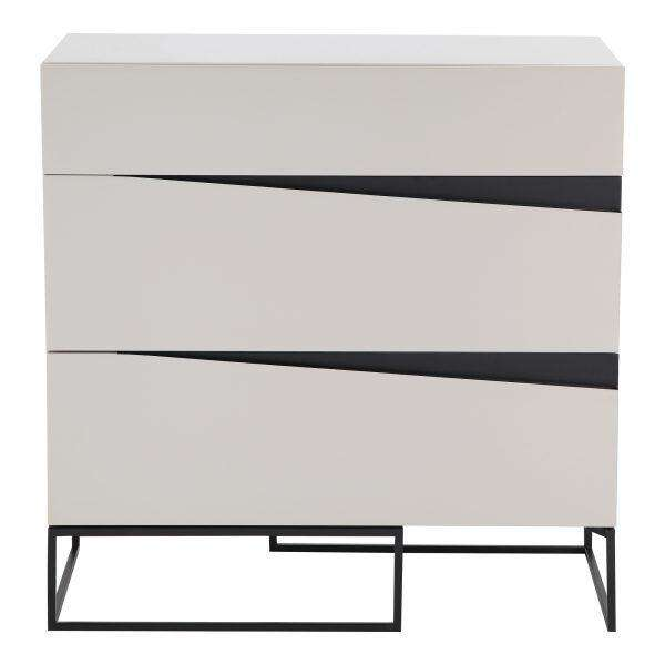 "122 White Metal & MDF - 31.5"" Dresser-furniture stores regina-Hunters Furniture"