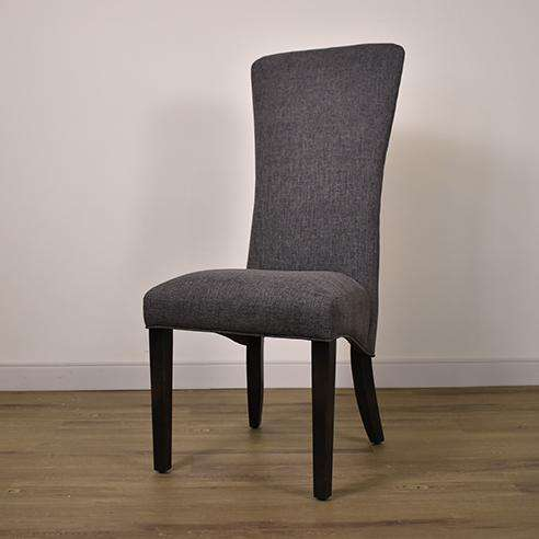 C-1214U-M Chair in Chamois Ebony / F264 17 1/2 x 20 x 45 1/2-furniture stores regina-Hunters Furniture
