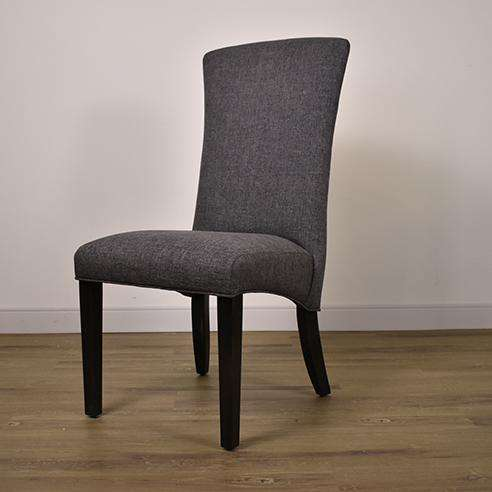 C-1213U-M Chair in Chamois Ebony / F264 18 1/4 x 20 1/4 x 41 1/2-furniture stores regina-Hunters Furniture