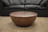 "SEATTLE II Copper Finish Metal - 31.5"" Coffee Table-furniture stores regina-Hunters Furniture"