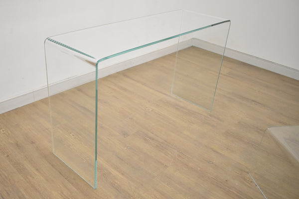 "VALLEY Clear Glass   -   49"" Console/Sofa Table"