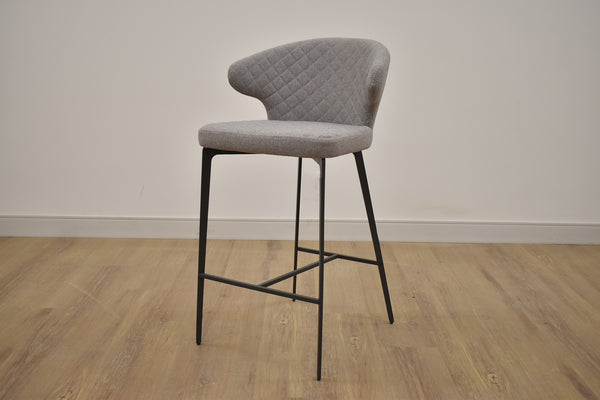 PERU PEYTON GREY 26 STOOL Grey Metal Finish-furniture stores regina-Hunters Furniture