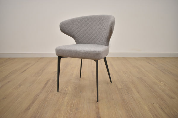 PERU PEYTON GREY CHAIR Grey Metal Finish-furniture stores regina-Hunters Furniture
