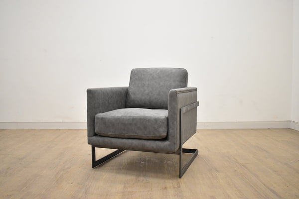 "BERLIN Grey Fabric - 27"" Chair-furniture stores regina-Hunters Furniture"