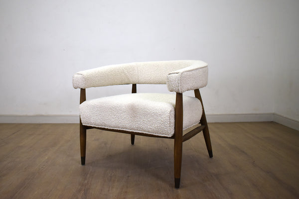 Everest Chair - Cream Boucle