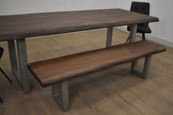 "YONGE Brown Wood - 70"" Dining Bench-furniture stores regina-Hunters Furniture"