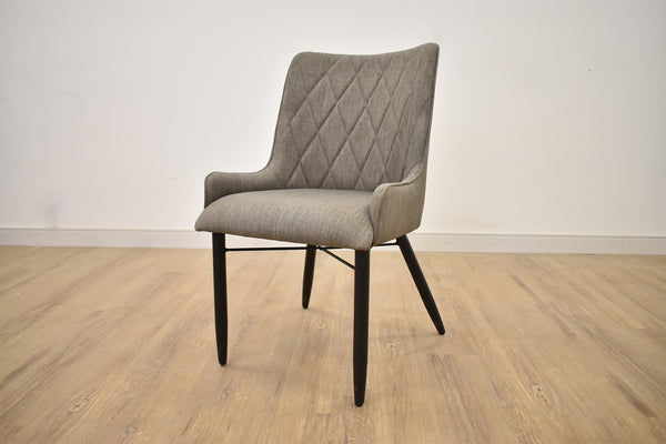WEST VAN Grey Fabric - Dining Chair-furniture stores regina-Hunters Furniture