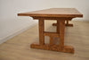 "CHARLOTTE Natural Solid Wood - 118"" Dining Table-furniture stores regina-Hunters Furniture"