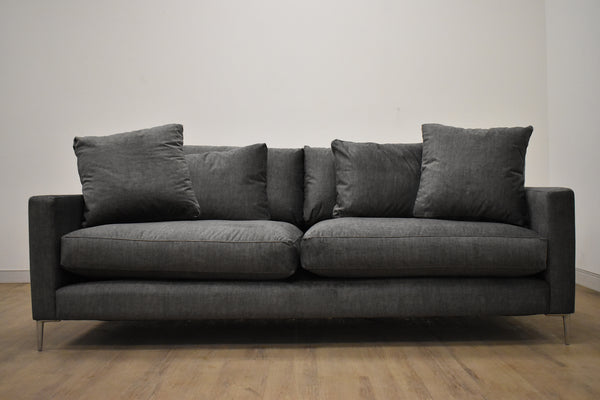 "BERLIN Customizable SOFA 90""-furniture stores regina-Hunters Furniture"