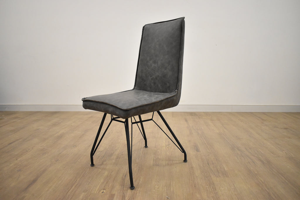 YORK Grey Fabric - Dining Chair-furniture stores regina-Hunters Furniture