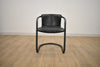 BERLIN Black Leather - Dining Chair-furniture stores regina-Hunters Furniture
