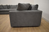 "WHISTLER Grey 3 PC Fabric - 130"" x 130"" Sectional-furniture stores regina-Hunters Furniture"