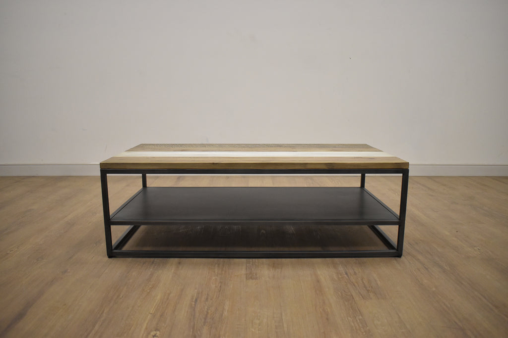 "SilVER LAKE Brown Exotic Hardwood - 47"" Coffee Table-furniture stores regina-Hunters Furniture"
