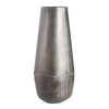 "FLAGSTAFF Grey Finish Metal - 22"" Vase-furniture stores regina-Hunters Furniture"
