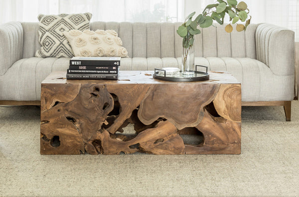 "NANIAMO UPCYCLED     -   47"" Coffee Table"
