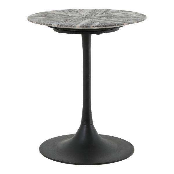 "72 Grey Marble - 21"" Side Table-furniture stores regina-Hunters Furniture"