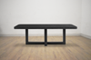 "WEST VAN Black Terrazzo - 88.5"" Dining Table-furniture stores regina-Hunters Furniture"