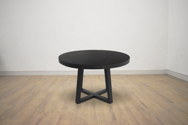 "WEST VAN Black Terrazzo - 47.25"" Dining Table-furniture stores regina-Hunters Furniture"