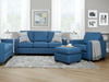 "HAMILTON CUSTOM FABRIC SOFA CHAISE 79"" (R or L)-furniture stores regina-Hunters Furniture"