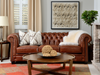 "BEAUMONT CUSTOM LEATHER 5 PC SECTIONAL 130"" x 130""-furniture stores regina-Hunters Furniture"