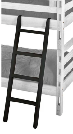 Ladder, tall bunk bed and study loft bed Espresso-furniture stores regina-Hunters Furniture