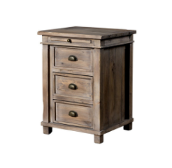 Settler Nightstand - Sundried-furniture stores regina-Hunters Furniture