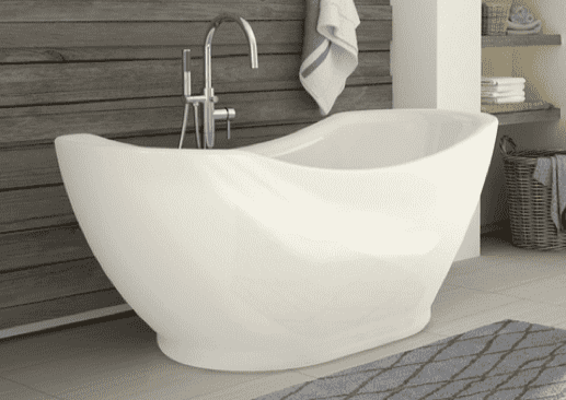"(Clearance) 67"" Freestanding Bathtub - FINAL SALE-furniture stores regina-Hunters Furniture"
