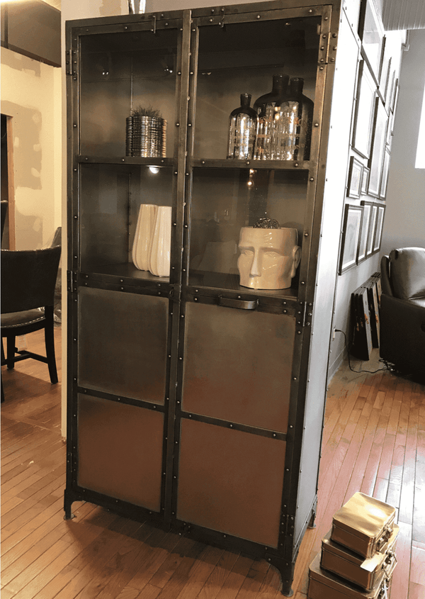 "MUNICH Reinforced Metal - 36"" Cabinet-furniture stores regina-Hunters Furniture"