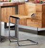 "MUNICH II Tan Leather - 41"" Bar Stool-furniture stores regina-Hunters Furniture"