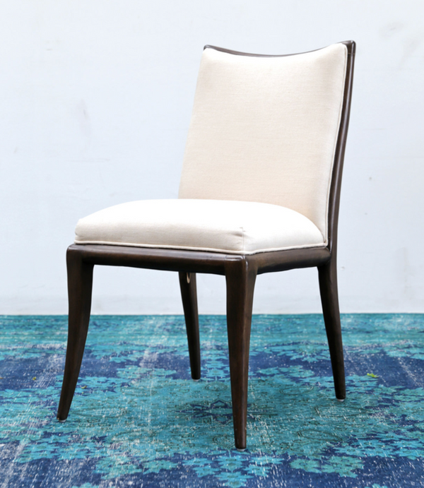TRIBECA Ivory Fabric - Dining Chair-furniture stores regina-Hunters Furniture