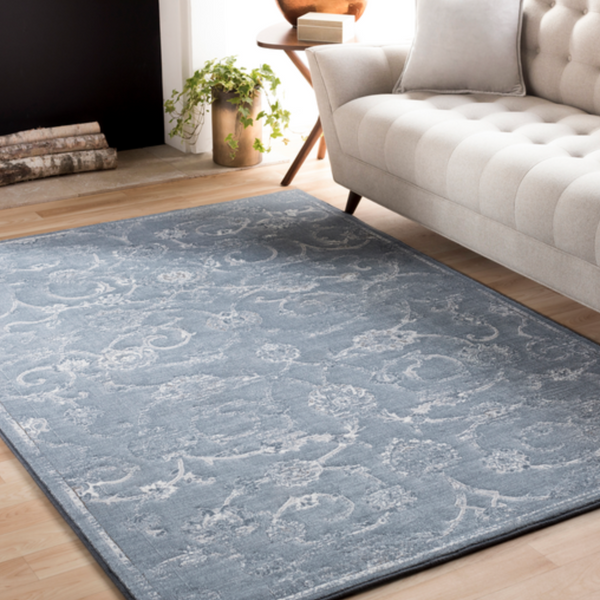 506 Polypropylene, Denim, Pale Blue, Light Grey, Ivory Fabric - 4x6 Rug-furniture stores regina-Hunters Furniture