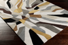 507 Polyester, Lime, Ivory, Black, Dark Brown, Tan, Charcoal Fabric - 5x8 Rug-furniture stores regina-Hunters Furniture