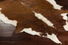 522 Hair on Hide, Camel Beige Leather - 5x5 Rug-furniture stores regina-Hunters Furniture