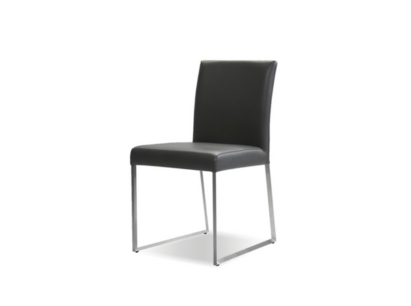 "ANNEX Grey Vegan Leather - 31"" Dining Chair-furniture stores regina-Hunters Furniture"