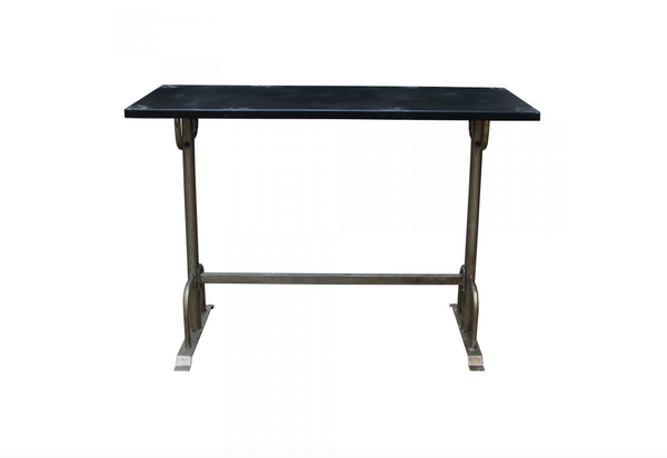 "REDMOND Black Wood - 60"" Counter Height Table-furniture stores regina-Hunters Furniture"