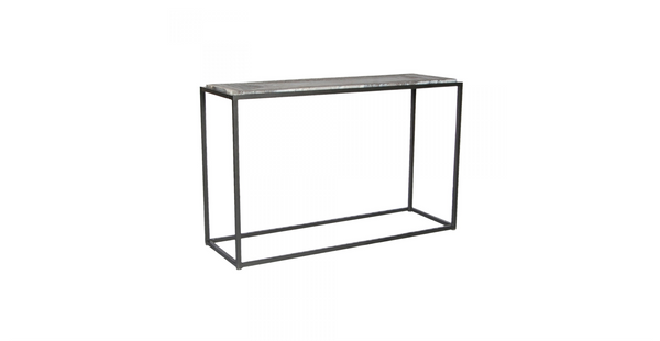 "TRIBECA II Grey Marble - 30"" Console/Sofa Table-furniture stores regina-Hunters Furniture"
