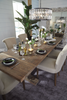 SAVANNAH Brown Wood - 86-110 Dining Table-furniture stores regina-Hunters Furniture