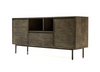 "ECHO PARK Light Brown Exotic Hardwood - 65"" Sideboard-furniture stores regina-Hunters Furniture"