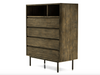 "ECHO PARK Brown Exotic Hardwood - 38"" Dresser-furniture stores regina-Hunters Furniture"