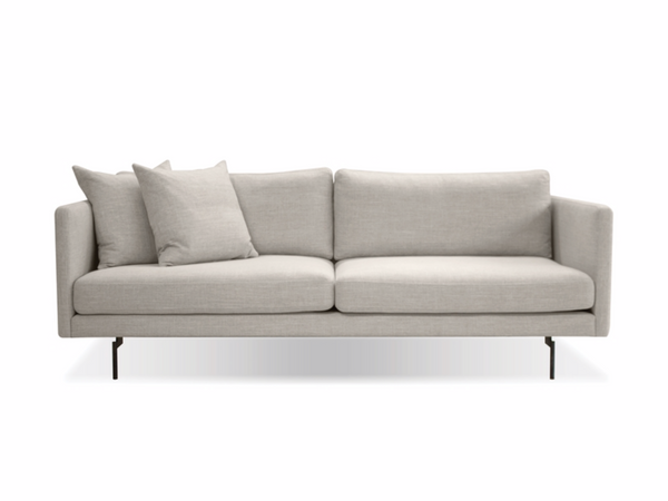 "WEST VAN Light Grey Fabric - 83"" Sofa-furniture stores regina-Hunters Furniture"