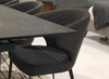 "604 Dark Grey Fabric - 31"" Dining Chair-furniture stores regina-Hunters Furniture"