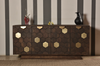 "NIAGRA Brown Metal - 68"" Sideboard-furniture stores regina-Hunters Furniture"