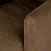 "CALGARY Brown Leather - 26"" Chair-furniture stores regina-Hunters Furniture"
