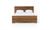 "OAK Smoked Finish Wood Grain - 69"" Queen Bed-furniture stores regina-Hunters Furniture"