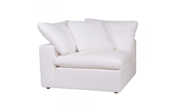 "SANTA MONICA Cream Fabric - Corner Chair 45"" L x 45"" W x 33"" H-furniture stores regina-Hunters Furniture"