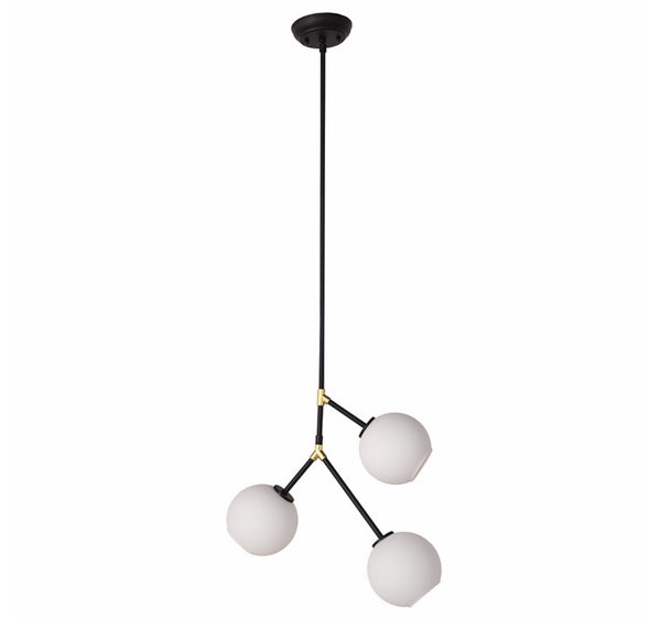 ATOM 3 PENDANT LIGHTING WHITE-furniture stores regina-Hunters Furniture